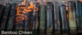 Bamboo Chiken at Kolluru Huts